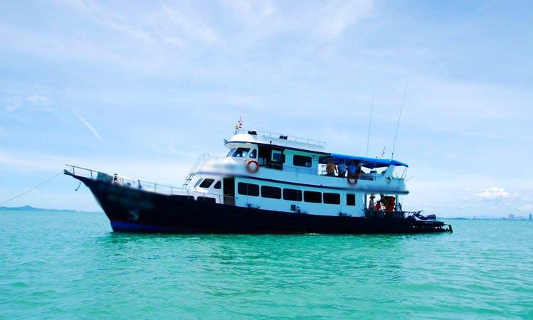 Enjoy Fishing in Pattaya, Thailand on Sabai Sabai Head Boat