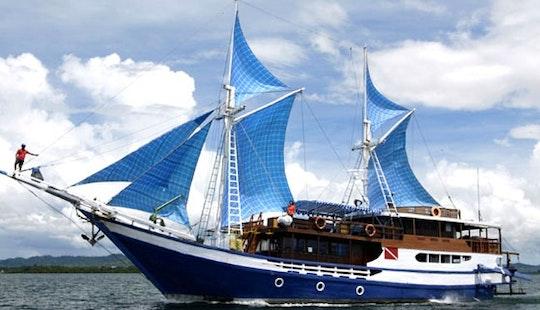 Charter 110' Mv Temu Kira Schooner In Denpasar Selatan, Indonesia