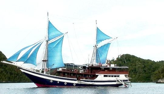 Charter 110' Mv Raja Ampat Schooner In Denpasar Selatan, Indonesia