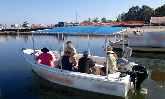 Safari V Motor Boat Rental In Rainbow Beach