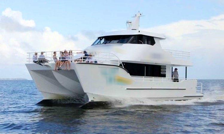 The MV Whalesong in Urangan