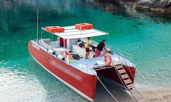 Charter Vlora Express Power Catamaran In Orikum, Albania