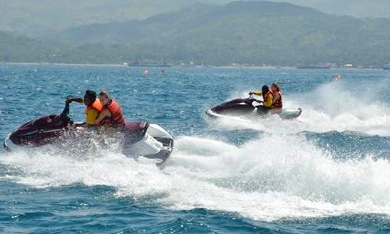 Malay Jet Ski Rides For 1 Or 2 People!