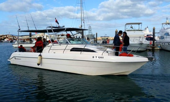 Enjoy Fishing In Dubai, United Arab Emirates On 33' Silver Craft Cuddy Cabin