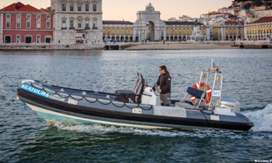 Book An Unbelievable Power Boat Tour For 6 Person In Lisboa, Portugal