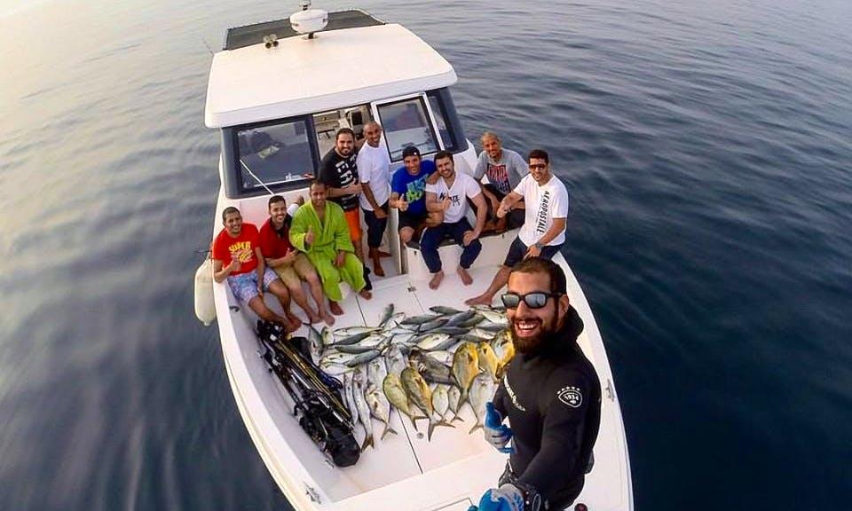 Enjoy Fishing in Al Khiran, Kuwait on Cuddy Cabin