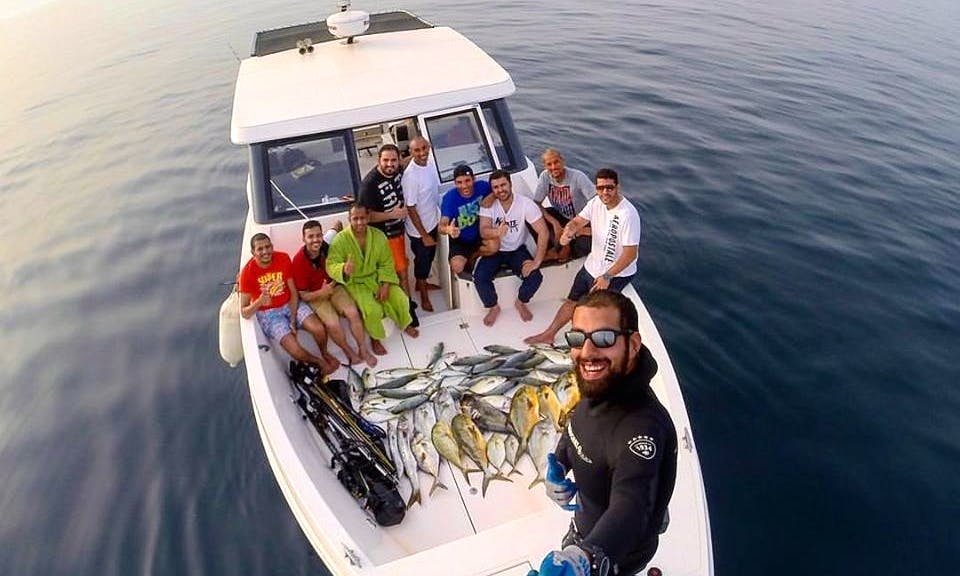 Enjoy Fishing in Al Khiran, Kuwait on Cuddy Cabin