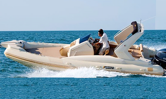 Rent 18' Solemar 5.40 Rigid Inflatable Boat In Loano, Italy