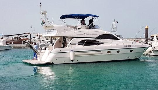 50ft Yacht Dubai Cruising