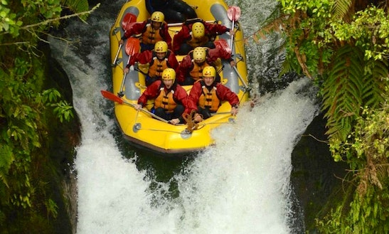 White Water Rafting Trips In Tikitere