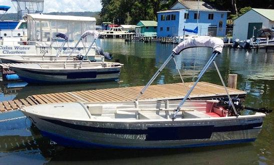 Hire 15' Fishing Boat In Narooma