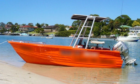 15' Run About Center Console Hire In Jervis Bay/ Shoalhaven