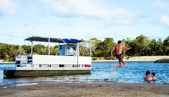 Be Your Own Captain On Our Pontoon In Tewantin, Australia