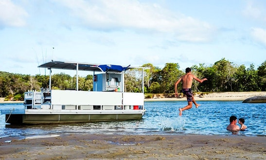 Be Your Own Captain On Our Pontoon In Tewantin