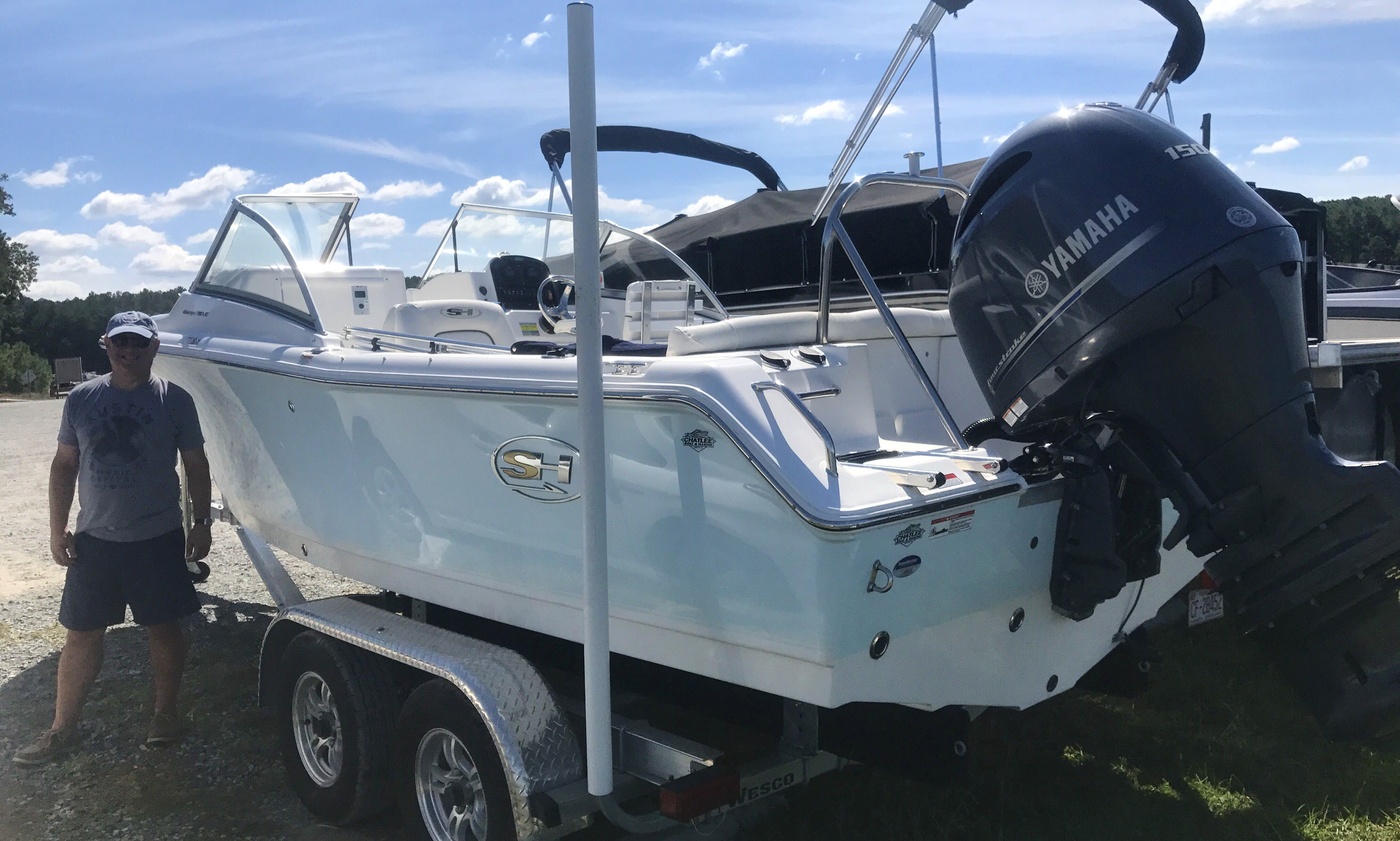 Center Console Boat for rent in Apex