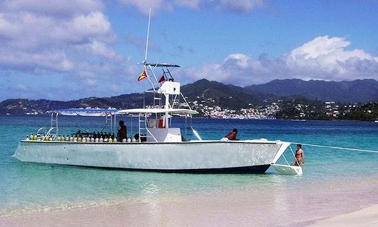 Dive Boat In Grenada