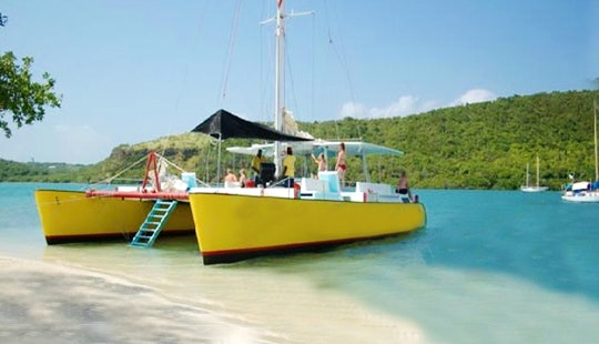 60' Sailing Catamaran In Grenada