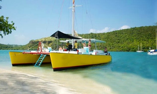 60' Sailing Catamaran In Grenada