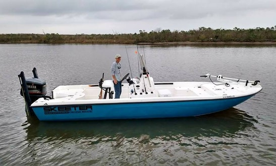 Metairie Fishing Charter On 24' Skeeter Center Console