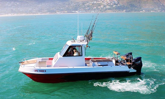 Enjoy Fishing In Hout Bay, Western Cape On Cuddy Cabin