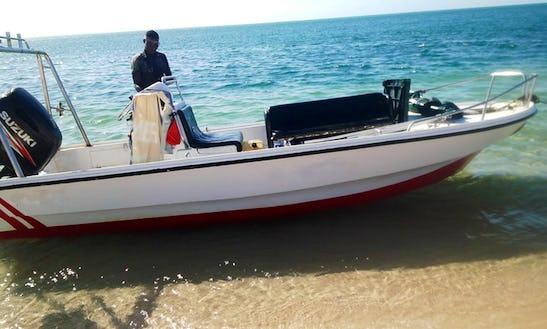 Electric Boat Rental In Vilanculos