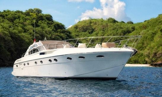Bali Boat Charter 52' Power Mega Yacht In Bali, Nusa Lembongan And Gili