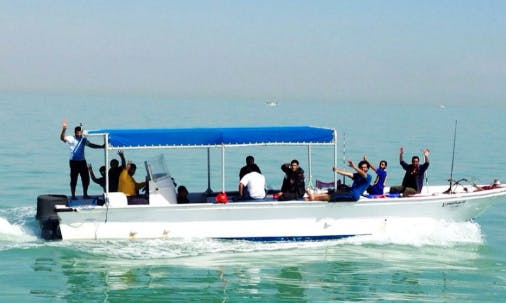 Enjoy Fishing in Salmiya, Kuwait on 36' Center Console