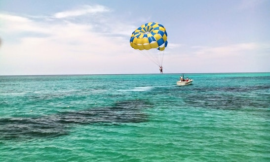 Parasailing In Trelawny Parish