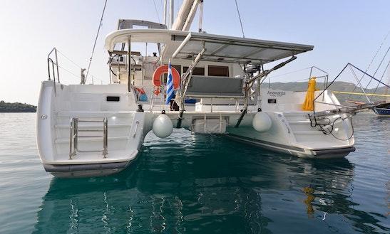 Cruising Catamaran Rental In Evritania