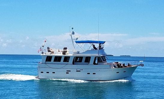 Motor Yacht Sleep Aboard Rental In Key West