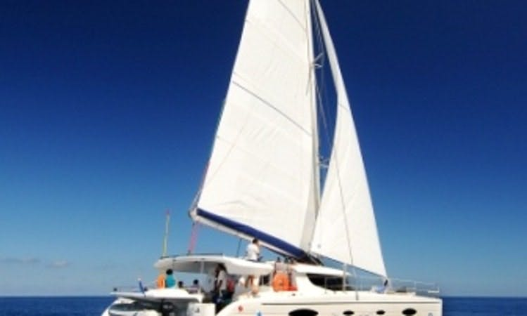 Power Catamaran Rental in Saint-Gilles les Bains