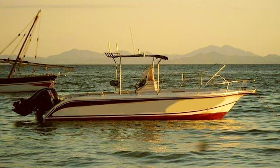 26' Targa Center Console Fishing Charter For 3 Person In Madagascar