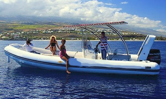 Rent 25' Rigid Inflatable Boat In Saint-gilles, Réunion