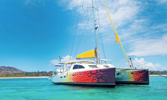 Charter 43' Copper Sunset Leopard Cruising Catamaran In Trou-aux-biches, Pamplemousses