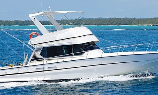 Enjoy Fishing In Flacq, Mauritius On 46' Cuddy Cabin