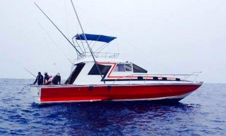 Thrilling Deep Sea Fishing Adventure in Rivière Noire, Mauritius