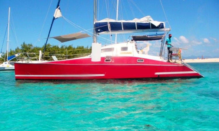 Charter a Cruising Catamaran in Pamplemousses, Mauritius