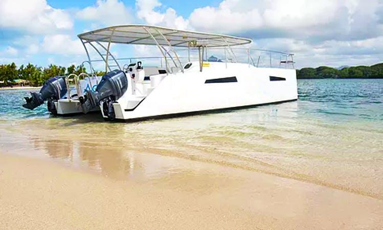Power Catamaran Rental for 35 People in Port Louis, Mauritius