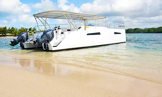 Power Catamaran Rental For 35 People In Port Louis, Mauritius