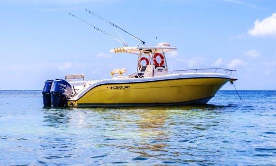 Enjoy Fishing In Victoria On 32' Center Console