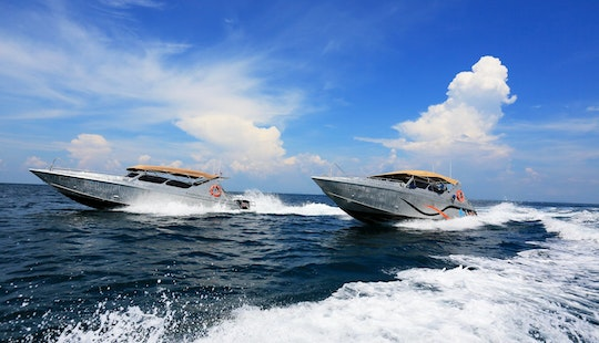 Speed Boat (premium Aluminium Body) In Phuket