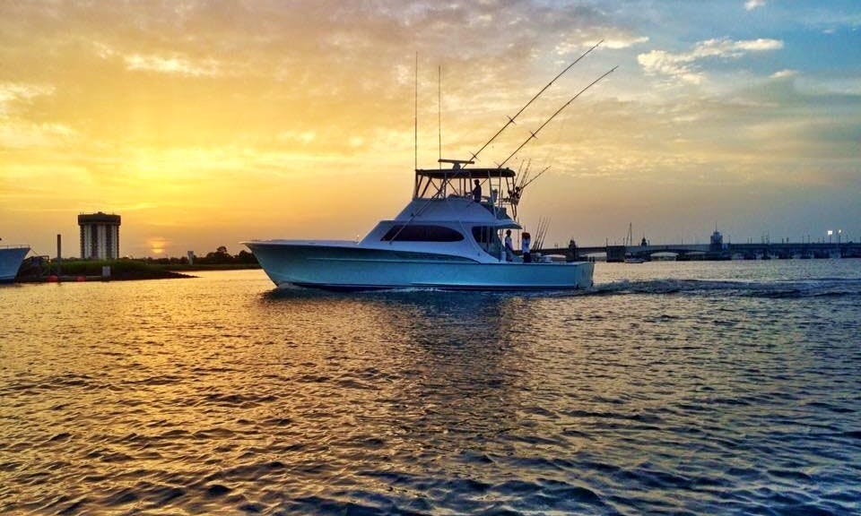 Sport Fisherman fishing charter in Mount Pleasant