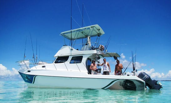 Sport Fisherman Fishing Charter In Mafia Island