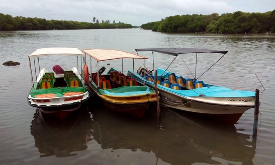Charter A Dinghy In Northern Province, Sri Lanka