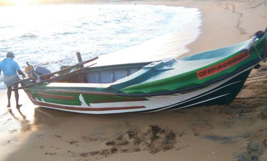 Enjoy Fishing In Unawatuna, Sri Lanka On Dinghy