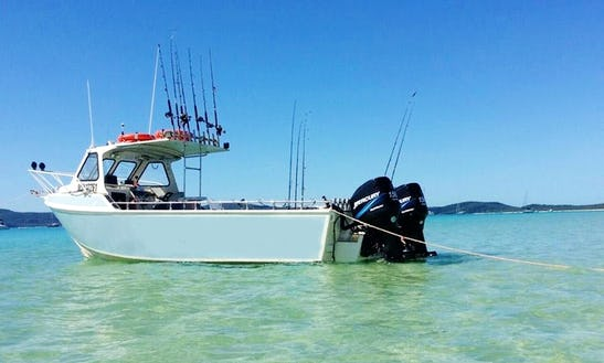 Enjoy Fishing In Point Wilson, Australia On Cuddy Cabin
