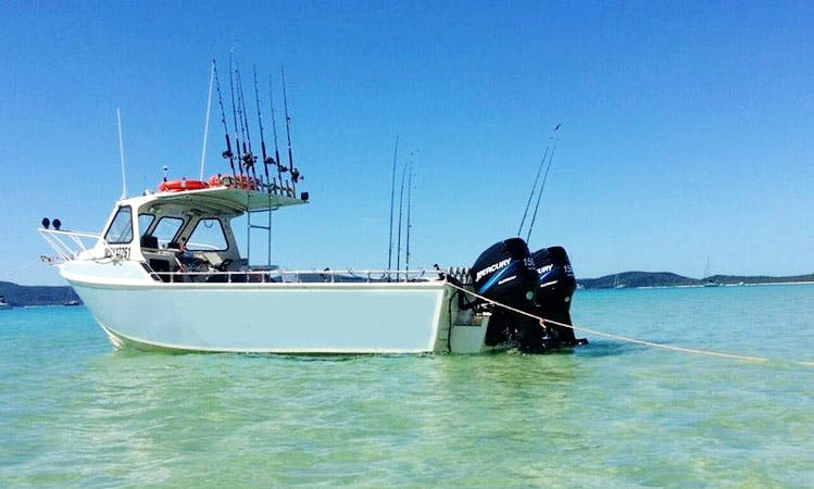 Enjoy Fishing in Point Wilson, Australia on Cuddy Cabin