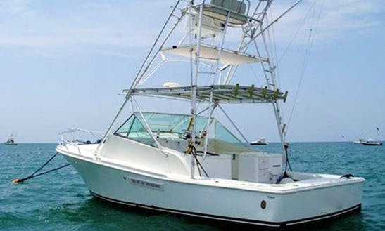 34' Sport Fishing Yacht Charter In Quepos