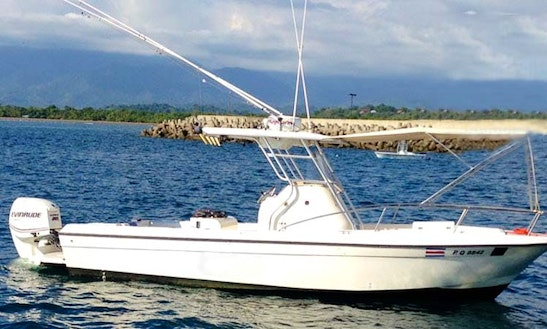 All-inclusive Center Console Rental In Quepos