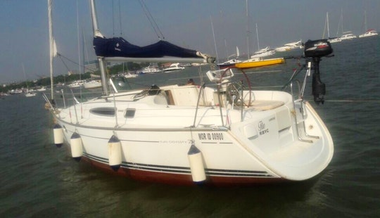 Jeanneau 29 Sail Yacht For Rent And Charter In Mumbai